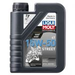Liqui Moly 4-Stroke Semi-Synthetic Street Oil - 15w/50